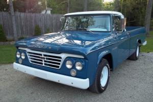 1965 Dodge D100 Pickup Nut and Bolt Restoration Mopar 318