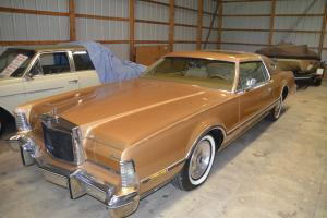 1975 Lincoln Mark IV Base Coupe 2-Door 7.5L  LOW Miles 45K