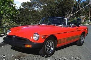 '79 MGB-ORIGINAL CONDITION-2 OWNER CALIFORNIA CAR*42k ORIGINAL MILES! *PRISTINE*