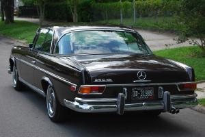 1967 Mercedes 250SE COUPE W111, elegant Havana Brown, Kuhlmeister, HEADRESTS ***