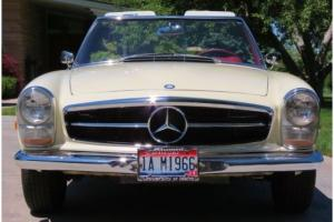 1966 230 SL Surviver Same owner last 34 years All records from new 3 owners NICE