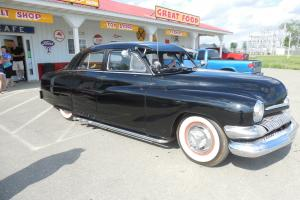 1951 Mercury lead sled Flathead v8 automatic tranny shaved. Black on Black Photo
