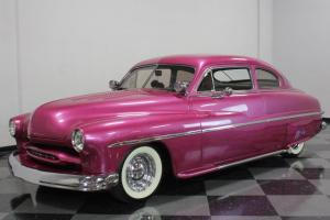 NICE MERC LEAD SLED, 350CI CHEVY, AUTO TRANS W/ A/C, SHAVED DOORS W/ POPPERS Photo