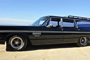 1965 PLYMOUTH FURY III WAGON WITH CUSTOM 440 HP ENGINE-NEW CHROME- MOPAR MOPAR