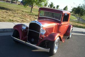 RARE 1932 PLYMOUTH 3 WINDOW COUPE