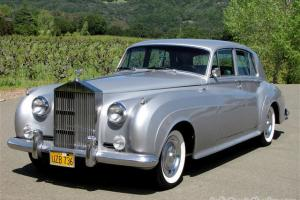 1962 Rolls Royce Silver Cloud II, AIR COND -- Owned by Comedian Jonathan Winters
