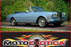 1984 Rolls Royce Corniche - Meticulously Maintaned - Original Condition- Records