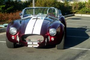 1965 Cobra Replica (Backdraft BDR RT3) Wineberry Photo