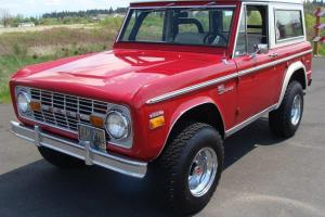 351 Shelby 1971 Ford Bronco Original Paint Both Tops No Reserve records since 71