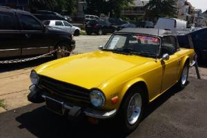 1976 Triumph TR-6, CONVERTIBLE, RUST FREE, READY TO DRIVE, L@@K!!!!!!