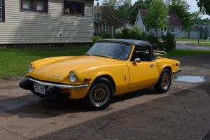 1974 Triumph Spitfire Base Convertible 2-Door 1.5L