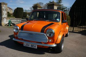 1993/ L reg, Classic Rover Mini 1275cc in Met Orange, Mot