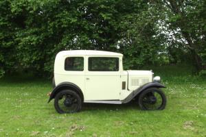 Austin Seven Box Saloon 1933/34