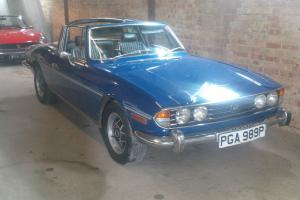 1976 TRIUMPH STAG - RARE MANUAL GEARBOX MODEL WITH WORKING OVERDRIVE - BARGAIN..