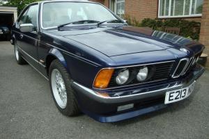 1987 BMW 635 E24 AUTO