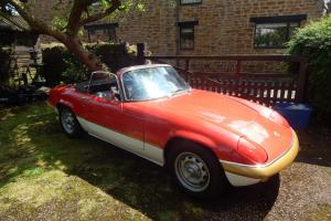Lotus Elan S4 1.6 Coupe 1968 finished in sprint colours and having covered 86000