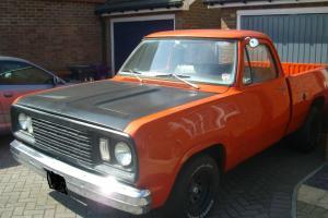 1971 DODGE D100 6.6l V8 auto WHY?