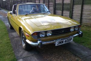 1975 TRIUMPH STAG AUTO - FULL FRONT TO BACK BODY RESTORATION - ABSOLUTE GIVEAWAY