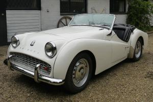 1960 Triumph TR3A. Superb recently fully restored LHD example.