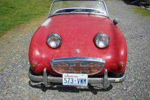 1959 AUSTIN HEALEY BUG EYE SPRITE MK1