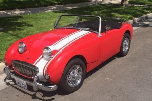 1960 Austin Healy Bugeye Sprite - California Bugeye – NICE IMPROVEMENTS