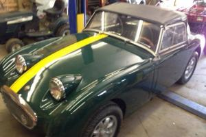60 Austin Healey Bugeye Sprite Photo