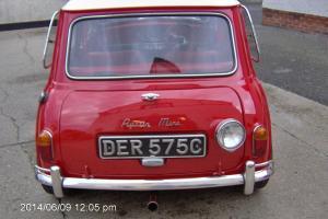 1965 AUSTIN MINI RED