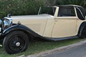 1934 Bentley 3 1/2 Litre Fixed Head Sedanca Coupe by Barker- London Showcar Photo
