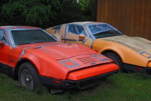 Bricklin SV1 Gull Wing Door Automobiles & Parts Inventory 1975