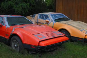 Bricklin SV1 Gull Wing Door Automobiles & Parts Inventory 1975 Photo