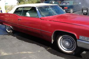 1969 Cadillac DeVille Convertible - Only 1 owner! RARE