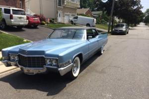 1969 DEVILLE CONVERTIBLE A REAL NICE CAR