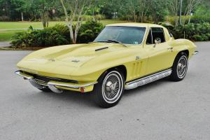 427 numbers matching factory a/c,4 sp, 66 Chevrolet Corvette p,s,p.b so rare wow