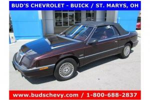 1989 Chrysler Lebaron Convertible 46,570 Pampered Miles As Nice As they Come!