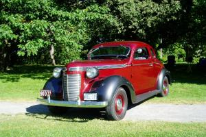 1937 Chrysler C-16 Business Coupe - 41,500 original miles