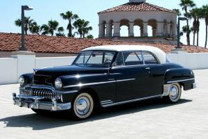 1950 DeSoto Custom Sportsman 2-Door Hardtop Low Miles Fluid Drive Tip-Toe Shift