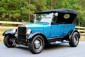 1926 Ford model T Phaeton hot rod