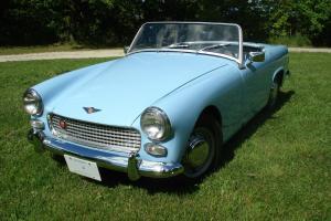 1962 Austin Healey Sprite MkII