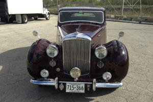 1948 Bentley MVI Hooper Saloon