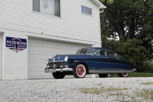 1949 HUDSON SUPER SIX SEDAN  FRESH PAINT & INTERIOR *RUNS AND DRIVES GREAT*