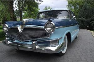 *** GORGEOUS 1956 HUDSON WASP 4-DOOR SEDAN - 72,540 ORIGINAL MILES!! ***