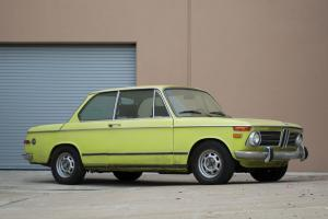 """1973 BMW 2002 Tii """"Roundie"""" - NO RESERVE - A Matching-Numbers Example!"""