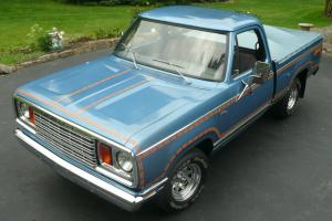 1978 Dodge Ramcharger  JEAN MACHINE one owner matching numbers ,low miles