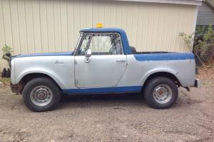 1969 scout 4x4 plow automatic v-8 project