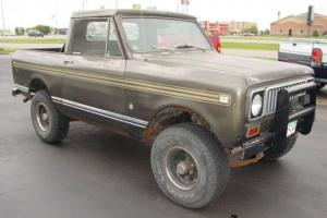 1975 International Scout XLC Hard Top Pickup RARE!!!