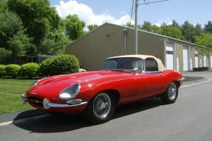 1963 Jaguar, Series I, 3.8 Liter E-type Roadster
