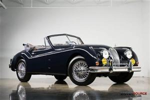 """1956 Jaguar XK140M """"Special Equipment"""" Drophead Coupe - Excellent Example"""