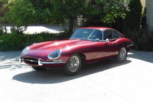 2 seater coupe, xke, e-type, 4.2liter, series 1.