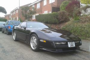 Chevrolet Corvette C4, Black 1989 Auto