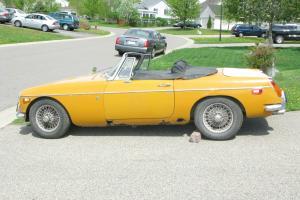 1971 MG MGB 59000 Miles Needs Repair